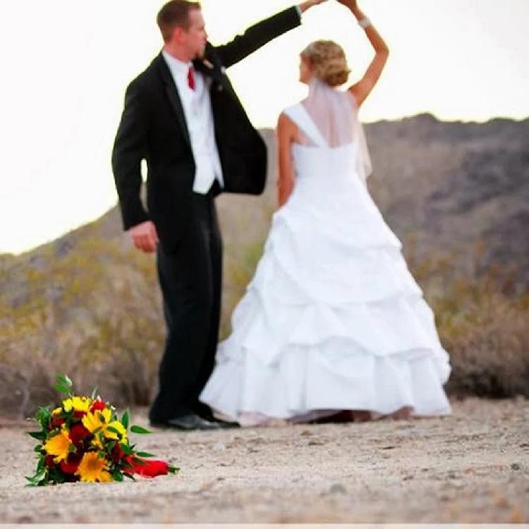 Phoenix Desert Trail Wedding